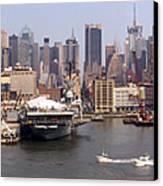 Midtown Manhattan Panorama Canvas Print