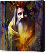 Midwinter Solstice Fire Lord Canvas Print