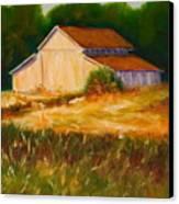 Mike's Barn Canvas Print