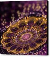 Mikroskopic I Canvas Print by Sandra Hoefer