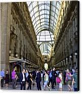 Milan Shopping Mall Canvas Print by Milan Mirkovic