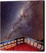 Milkyway Canvas Print by Fabio Giannini