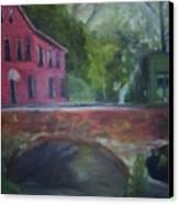 Mill Street Plein Aire Canvas Print