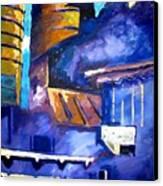 Mill Viii Canvas Print