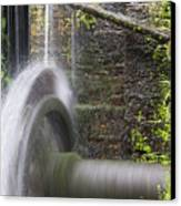 Mill Wheel Canvas Print by Stefano Piccini