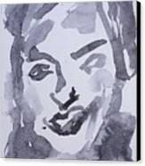 Milo Iv Canvas Print by Khalid Alzayani