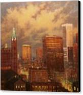 Milwaukee My Hometown Canvas Print