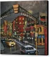Milwaukee's Historic Third Ward Canvas Print by Tom Shropshire