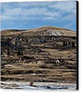Mining Town Panorama Canvas Print by Angus Hooper Iii