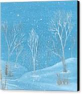 Minnesota Winter... No. Two Canvas Print by Robert Meszaros