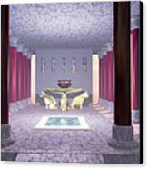Minoan Temple Canvas Print by Corey Ford