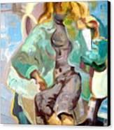Mirella Canvas Print by Therese AbouNader