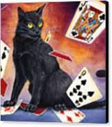 Mischief Kitten Canvas Print