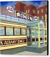 Miss Albany Diner Canvas Print