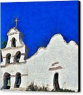 Mission San Diego De Alcala Canvas Print by Christine Till