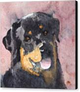 Mister Bob Canvas Print by Ally Benbrook