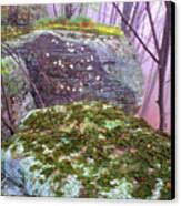 Misty Woodland Scenic Canvas Print