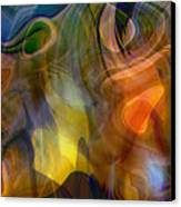 Mixed Emotions Canvas Print by Linda Sannuti