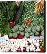 Mixed Vegetables - 5d17086 Canvas Print by Wingsdomain Art and Photography