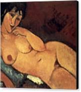 Modigliani: Nude, 1917 Canvas Print by Granger