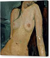 Modigliani: Nude, C1917 Canvas Print