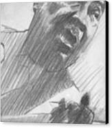 Mojo Man Canvas Print