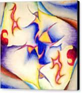 Molecule Of A Mirror Canvas Print