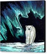 Monarch Of His Arctic Domain Canvas Print by Dianne Roberson