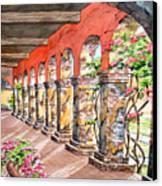 Monasterio Canvas Print