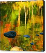 Monet Autumnal Canvas Print
