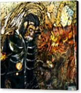 Monkey Demon Canvas Print