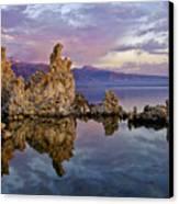 Mono Lake Sunset Canvas Print by Dave Dilli