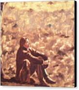 Monochrome Meditations Canvas Print