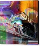 Monorail And Emp Canvas Print