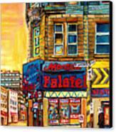Monsieur Falafel Canvas Print