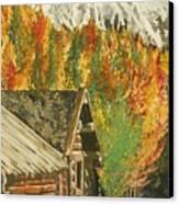 Montain Hide Out Canvas Print