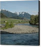 Montana Stream Canvas Print