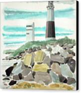Montauk Lighthouse Canvas Print