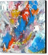 Monte Carlofireworks 2 Canvas Print