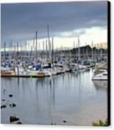 Monterey Harbor - California Canvas Print by Brendan Reals