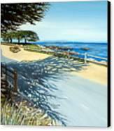 Monterey Shadows Canvas Print