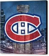 Montreal Canadiens City Canvas Print