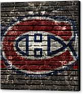Montreal Canadiens Habshype Canvas Print