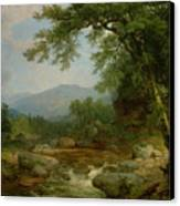 Monument Mountain - Berkshires Canvas Print by Asher Brown Durand