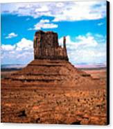 Monument Valley Monolith Canvas Print by Tom Zukauskas