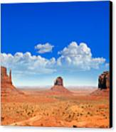 Monument Vally Buttes Canvas Print by Jane Rix