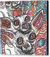 Moodswings Canvas Print by Robert Wolverton Jr