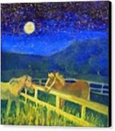 Moon Struck Canvas Print