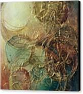 Moon Thread Canvas Print