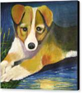 Moonlake Canvas Print